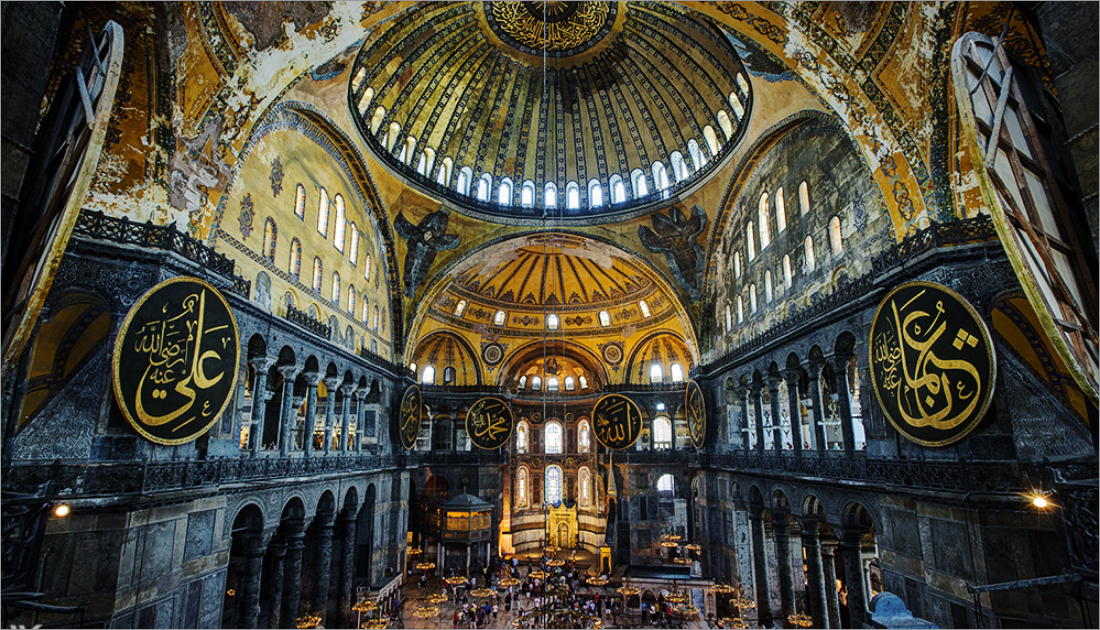 For about 916 years it was used as a church until Istanbul came under the province of Emperor Fatih Sultan Mehmed who turned it into the mosque