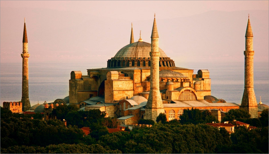 Hagia Sophia with the meaning as holy wisdom is a doomed monument built in the 6th century to serve as a cathedral.