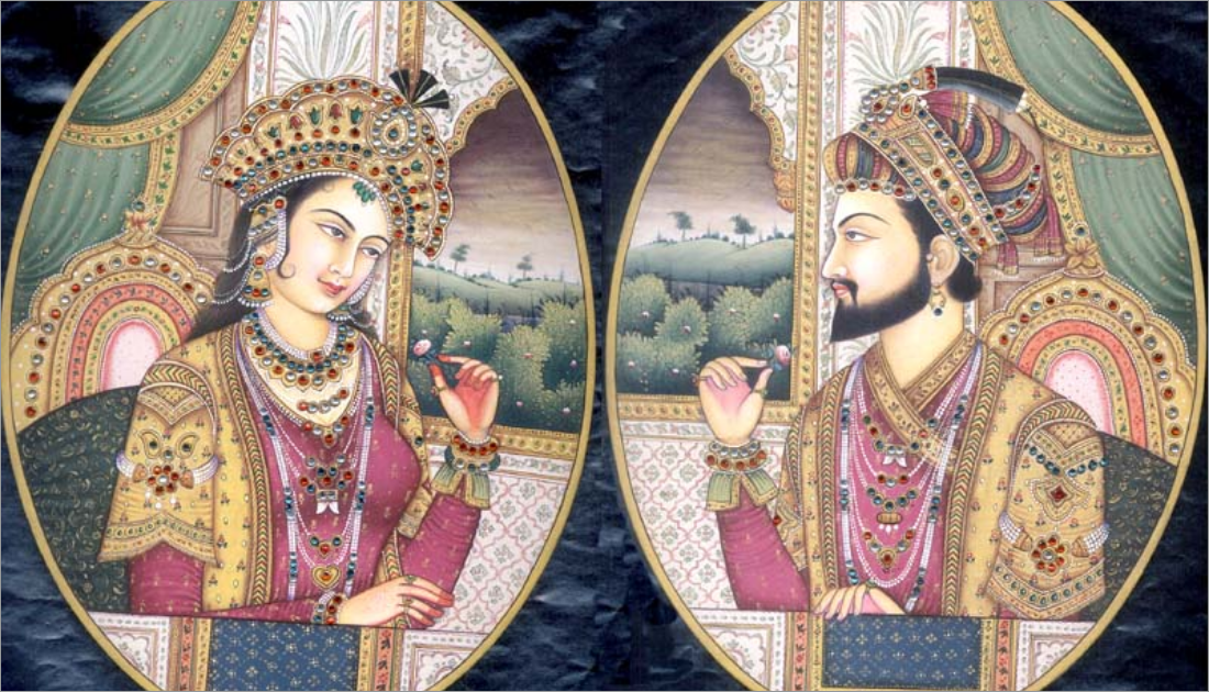 Mumtaz and Shah Jahan